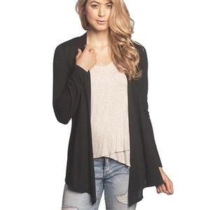 Sweaters - NEW Black Cardigan Plus Size 1x Draped Top Sweater